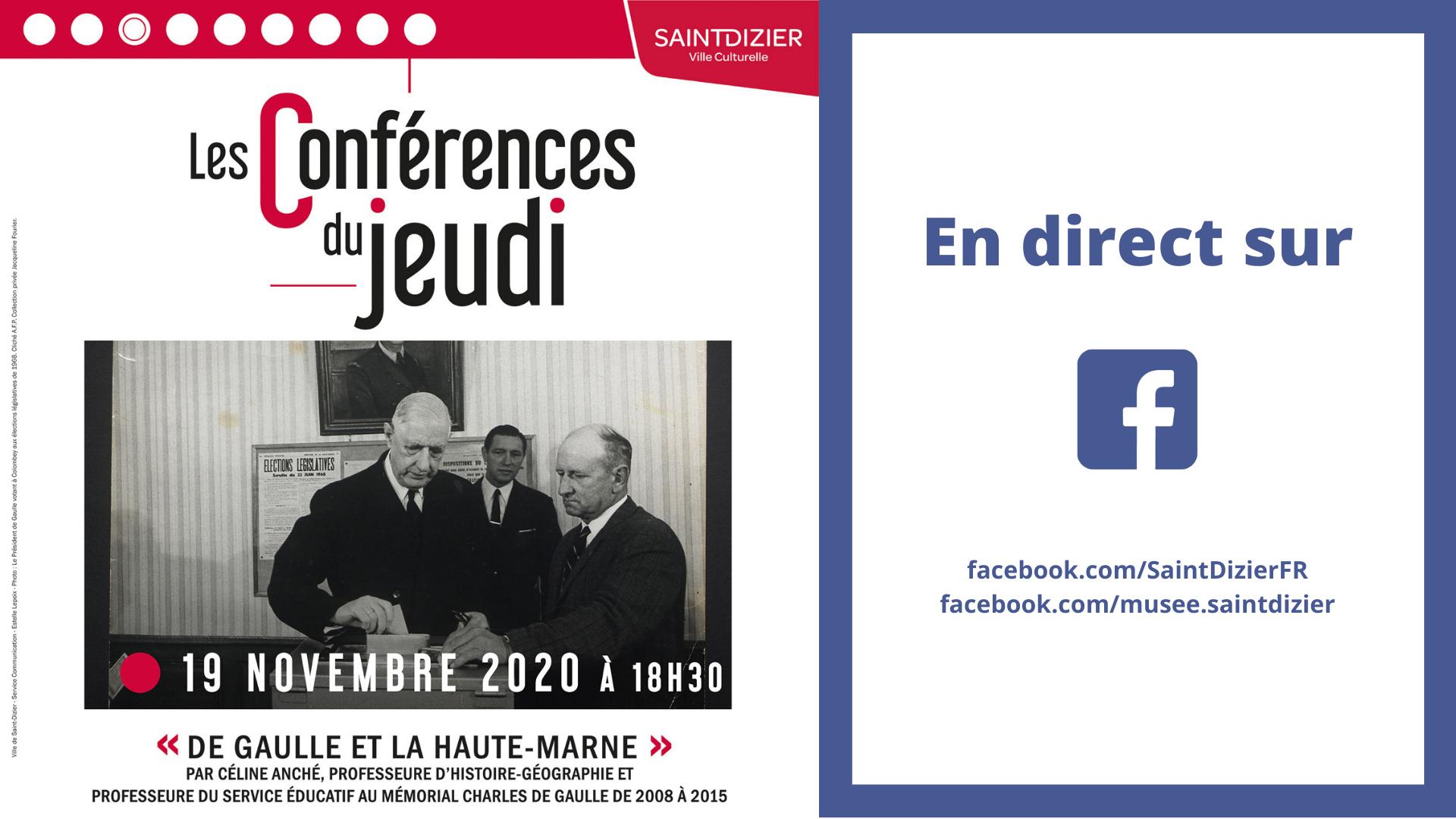 Conférences du Jeudi - 19 novembre 2020