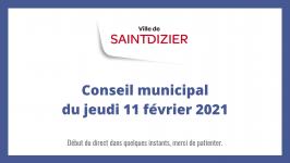 Conseil municipal du jeudi 11 février 2021
